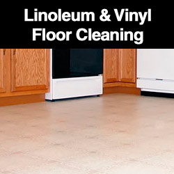 Linoleum & Vinyl Floor Cleaning